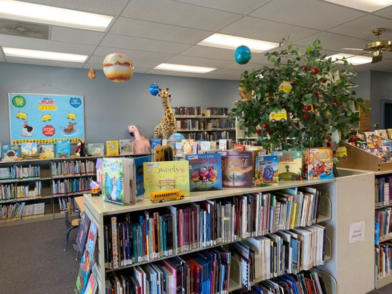 Children's center of Library